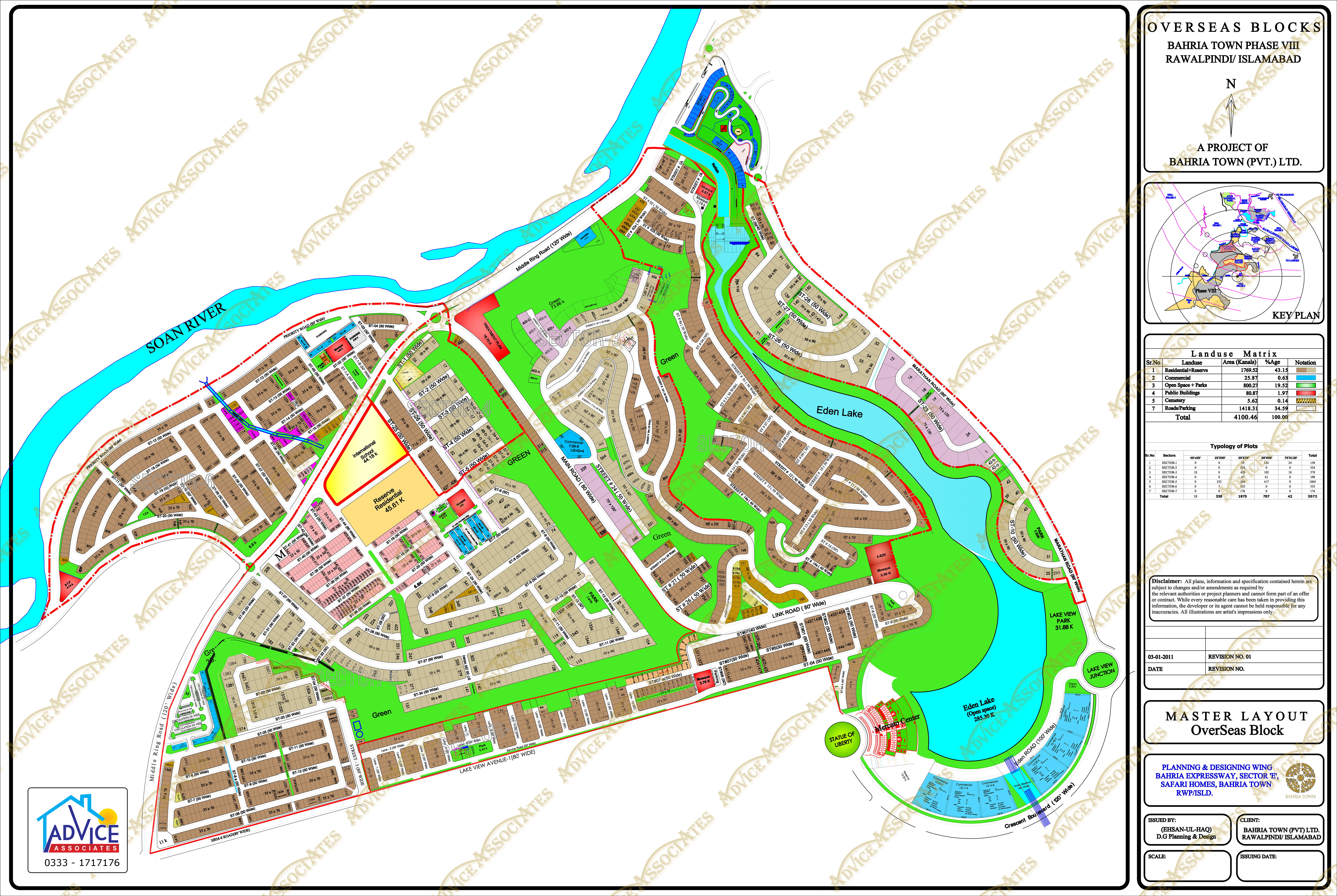 Bahria overseas enclave phase8 Map